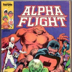 Cómics: ALPHA FLIGHT RETAPADO Nº 1,2,3,4,5. FORUM 1985. Lote 54203652