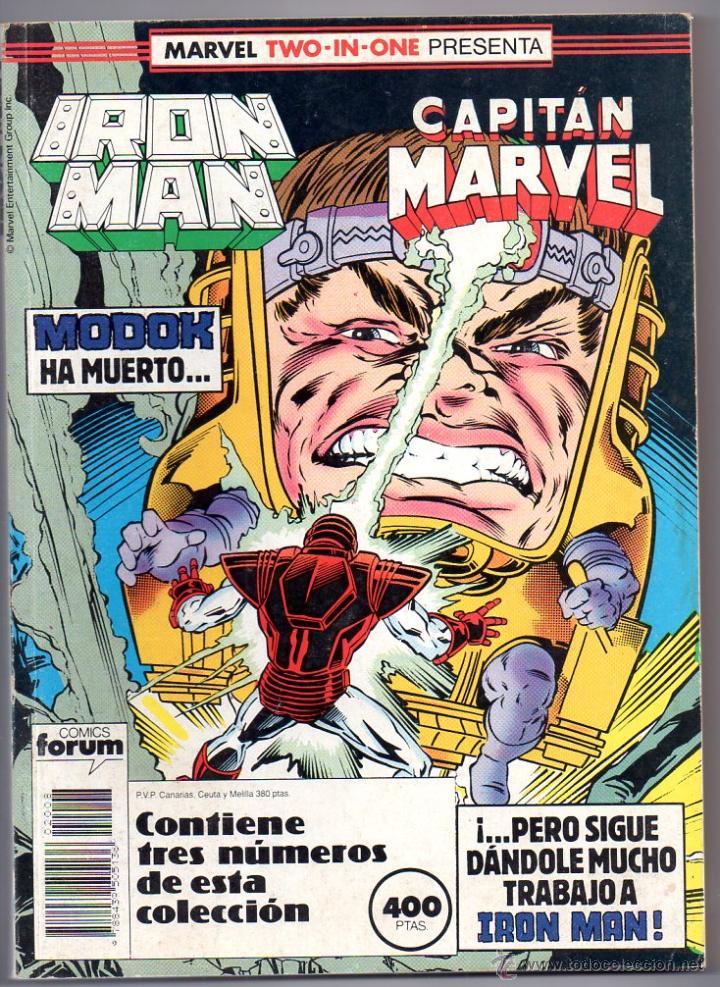 IRON MAN RETAPADO Nº47,48,49. FORUM 1985 (Tebeos y Comics - Forum - Retapados)