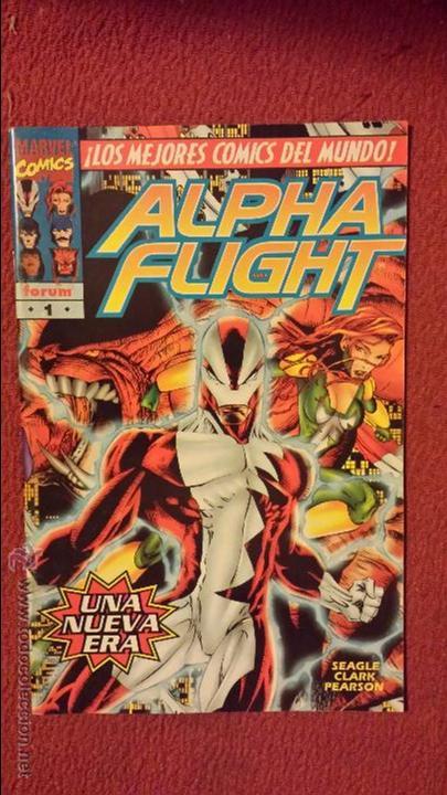 OFERTA ALPHA FLIGHT VOL. II - 1 - FORUM (Tebeos y Comics - Forum - Alpha Flight)