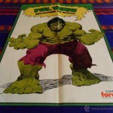 Cómics: FORUM VOL. 1 RETAPADO HULK LA MASA Nº 1 CON NºS 1 2 3 4 5 Y PÓSTER. 1983. DIFÍCIL Y BUEN ESTADO!!!!!. Lote 49954688