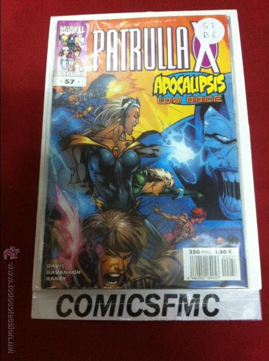 PATRULLA X VOLUMEN 2 NUMERO 57 BUEN ESTADO REF.11 (Tebeos y Comics - Forum - Patrulla X)