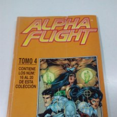 Comics: COMIC DE ALPHA FLIGHT. TOMO 4. CONTIENE LOS Nº 16 AL 20. FORUM. Lote 54289450