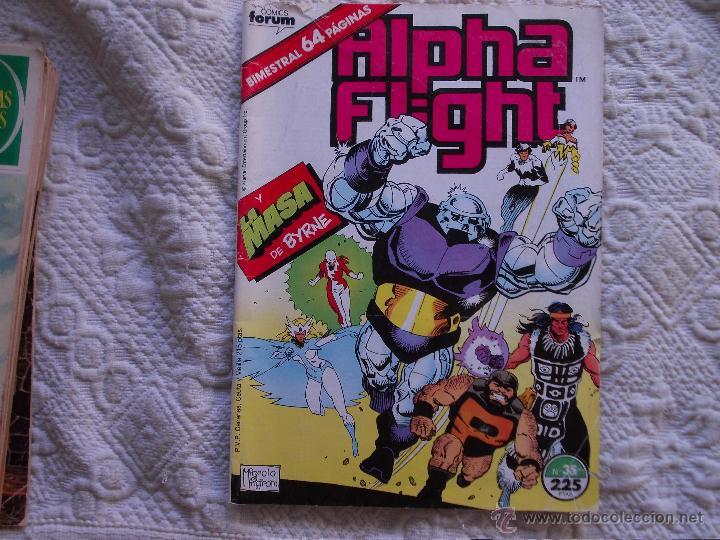 ALPHA FLIGHT VOL-1 Nº 35. FORUM (Tebeos y Comics - Forum - Alpha Flight)