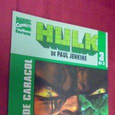 Comics : HULK DE PAUL JENKINS. Nº 3 DE 3. ESCALERA DE CARACOL. FORUM.. Lote 54356134