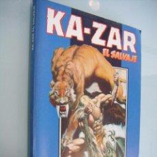 Cómics: KA-ZAR, EL SALVAJE - OBRA COMPLETA - ED. FORUM. Lote 54368613