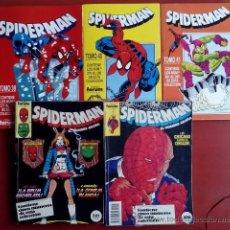 Cómics: SPIDERMAN VOL.1 (LOTE DE 10 NÚMS EN 2 RETAPADOS) -FÓRUM 1986-1993 - TAMBIÉN SUELTOS. Lote 58101003
