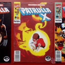 Cómics: LA PATRULLA-X (2ª EDICIÓN) VOL.1 Nº 26, 27 Y 28 -(LOTE DE 3 NÚMS) - FÓRUM. Lote 54477850