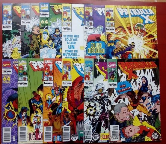 LA PATRULLA-X VOL.1 -(LOTE DE 8 NÚMS ENTRE EL 103 Y EL 145) - FÓRUM 1991-94 - TAMBIÉN SUELTOS (Tebeos y Comics - Forum - Silver Surfer)