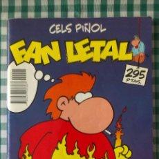 Cómics: RECOPILATORIO FAN LETAL, FAN CON NATA POR CELS PIÑOL, BLANCO Y NEGRO. Lote 54478889