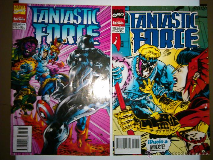 DOS COMICS DE FANTASTIC FORCE 4 / 5 COMICS FORUM (Tebeos y Comics - Forum - 4 Fantásticos)