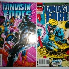 Cómics: DOS COMICS DE FANTASTIC FORCE 4 / 5 COMICS FORUM. Lote 54487088