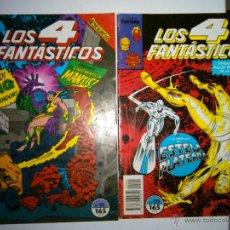 Cómics: LOTE DE 2 COMICS DE LOS 4 FANTASTICOS VOL I FORUM Nº 91 92. Lote 54488598