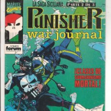 Cómics: PUNISHER. WAR JOURNAL. Nº 8.FORUM 1992.(C/A25). Lote 54506951