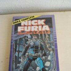 Cómics: NICK FURIA - CONTRA DE S.H.I.E.L.D. (SHIELD) - - COMICS FORUM - MARVEL - 1989 - OBRA COMPLETA. Lote 54508039