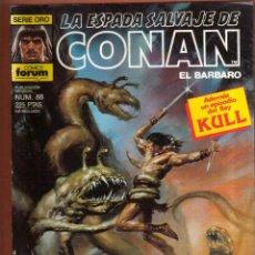 Cómics: COMIC . LA ESPADA SALVAJE DE CONAN .Nº 88 VER FOTO QUE NO TE FALTE EN TU COLECCION. Lote 54530621