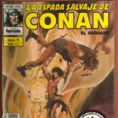 Cómics: COMIC . LA ESPADA SALVAJE DE CONAN .Nº 1 SEGUNDA EDICION VER FOTO QUE NO TE FALTE EN TU COLECCION. Lote 54530664