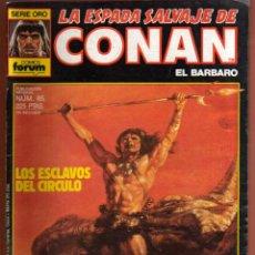 Cómics: COMIC . LA ESPADA SALVAJE DE CONAN .Nº 85 VER FOTO QUE NO TE FALTE EN TU COLECCION. Lote 54530702