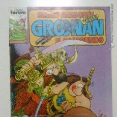 Cómics: GROONAN DE SERGIO ARAGONESES Nº 6 COMICS FORUM. Lote 54531959