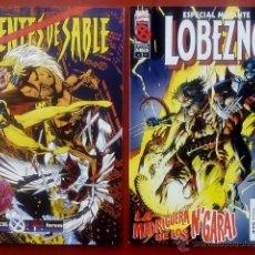 Cómics: 2 EJEMPLARESESPECIAL MUTANTE LOBEZNO - DIENTES DE SABLE - FORUM 1996 - TAMBIÉN SUELTOS. Lote 54565131