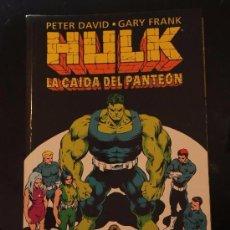 Cómics: HULK: LA CAIDA DEL PANTEON. PETER DAVID Y GARY FRANK. TOMO FORUM. LA MASA.. Lote 54660505