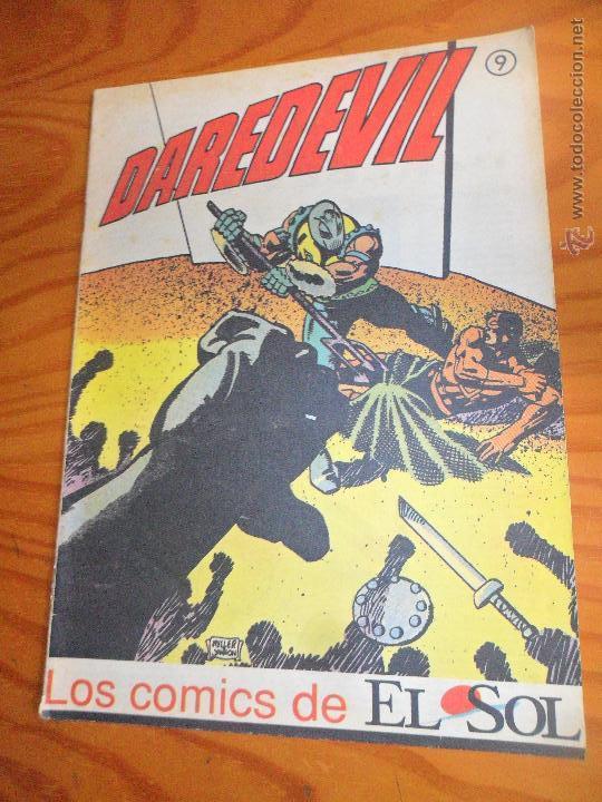 LOS COMICS DE EL SOL Nº9 , CON DAREDEVIL Y OTRAS HISTORIETAS (Tebeos y Comics - Forum - Daredevil)