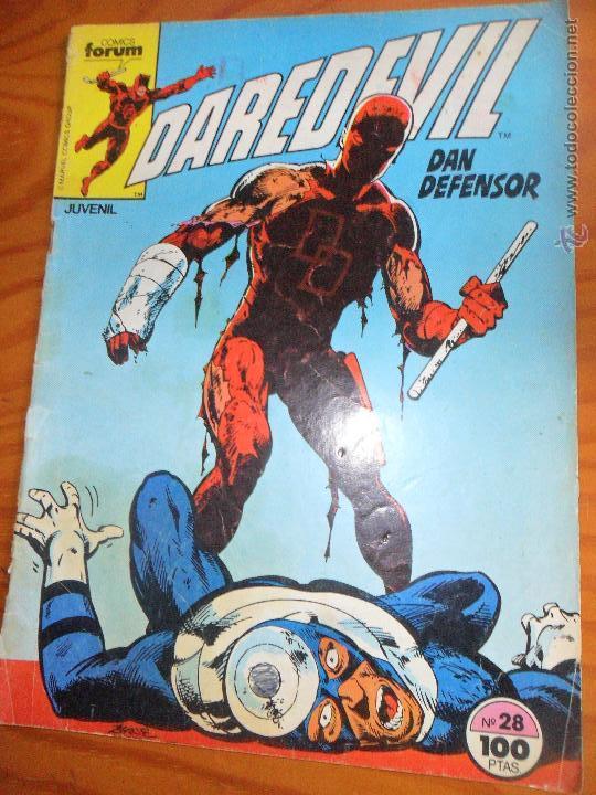 DAREDEVIL V.1 VOLUMEN 1 - Nº 28 - FORUM (Tebeos y Comics - Forum - Daredevil)