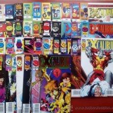 Cómics: EXCALIBUR VOL.2 DEL 1 AL 34 Y 36 (LOTE DE 35 NÚMS) - FÓRUM 1996-99. Lote 54723348