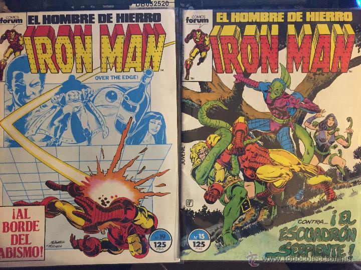 LOTE DE 2 COMICS IRON MAN (Tebeos y Comics - Forum - Iron Man)