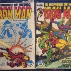 Cómics: LOTE DE 2 COMICS IRON MAN. Lote 54732003