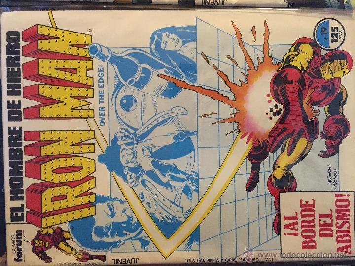 Cómics: Lote de 2 comics Iron Man - Foto 2 - 54732003