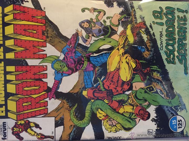 Cómics: Lote de 2 comics Iron Man - Foto 3 - 54732003