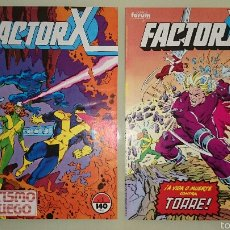 Cómics: FACTOR X - 1 Y 2. Lote 54739310