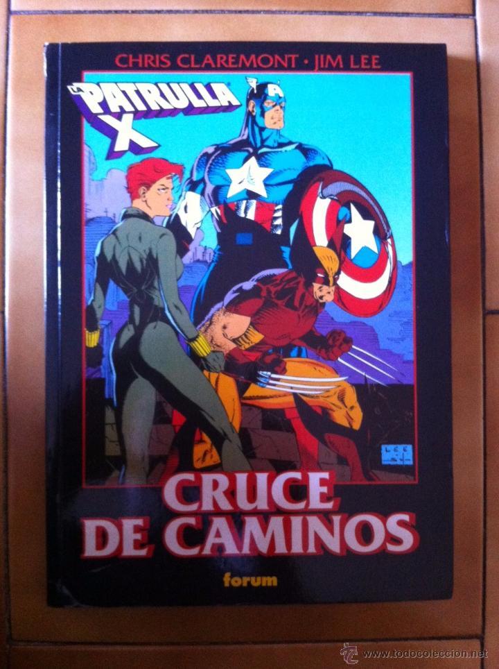 OBRAS MAESTRAS FORUM Nº 25 LA PATRULLA-X CRUCE DE CAMINOS - CLAREMONT Y JIM LEE (Tebeos y Comics - Forum - Prestiges y Tomos)