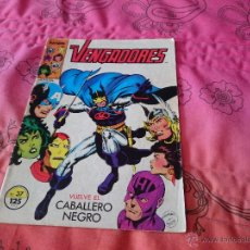Cómics: LOS VENGADORES - VUELVE EL CABALLERO NEGRO- FORUM VOL 1 Nº37. Lote 102298016