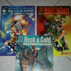 Cómics: NECK & COLD-CELS PIÑOL Y ANGEL UNZUETA-COMPLETA-LINEA LABERINTO. Lote 54834102