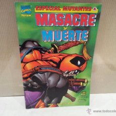 Cómics: ESPECIAL MUTANTES NUMERO 4 MASACRE Y MUERTE COMICS FORUM MARVEL. Lote 54837311