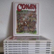 Cómics: CONAN ROY THOMAS BARRY WINDOR-SMITH, 8 TOMOS COMPLETA, EXCELENTE ESTADO. VER FOTOS. Lote 54886343