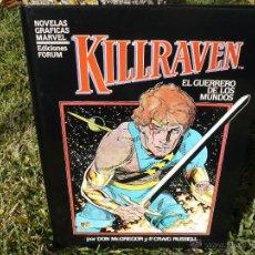 Cómics: KILLRAVEN. MCGREGOR & RUSSELL. FORUM, 1985.. Lote 54895107