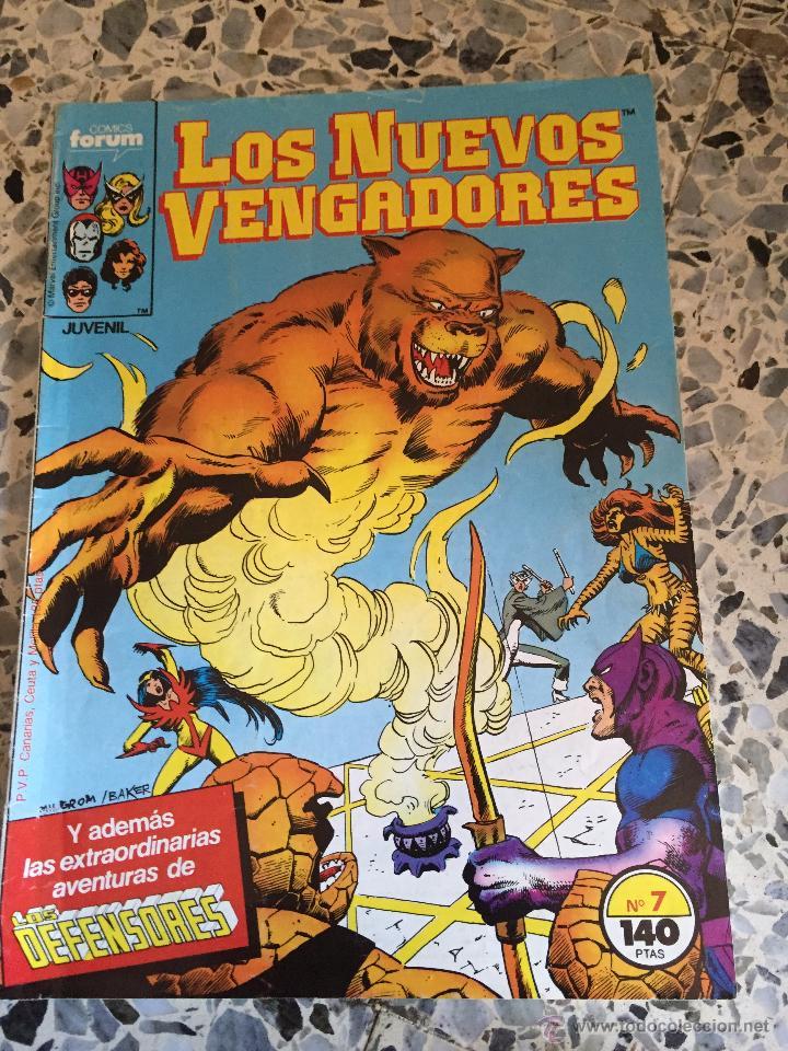 LOS NUEVOS VENGADORES NÚM. 7 FORUM (Tebeos y Comics - Forum - Vengadores)