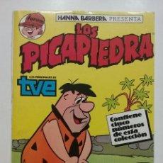 Cómics: RETAPADO LOS PICAPIEDRA NUMEROS 1 2 3 4 Y 5 - FÓRUM - HANNA BARBERA - 1986. Lote 54915029