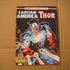 Comics : CAPITÁN AMERICA Y THOR Nº 62, MARVEL TWO-IN-ONE, EDITORIAL FORUM. Lote 54995267