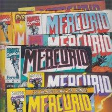 Cómics: MERCURIO VOL I , LOTE 10 EJEMPLARES , Nº - 1 AL 9 Y 12, -ED. FORUM. Lote 55129551