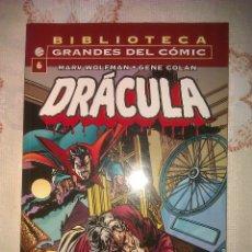 Cómics: BIBLIOTECA GRANDES DEL COMIC: DRACULA Nº 6 FORUM. Lote 65909931