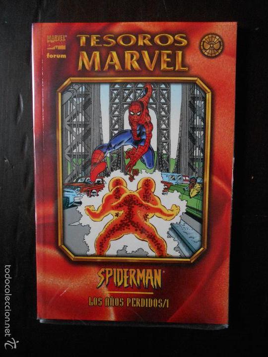 SPIDERMAN - LOS AÑOS PERDIDOS Nº 1 - TESOROS MARVEL Nº 3 - FORUM (U2) (Tebeos y Comics - Forum - Prestiges y Tomos)