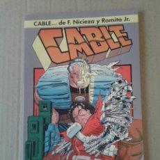 Cómics: CABLE: SANGRE Y METAL, DE NICIEZA Y ROMITA JR. ESPECIAL DE CÓMICS FORUM.. Lote 55349454