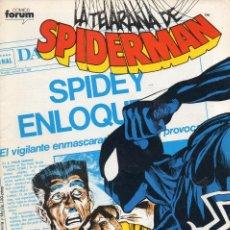 Cómics: COMIC FORUM 1986 SPIDERMAN VOL1 Nº 115 EXCELENTE ESTADO. Lote 55360880