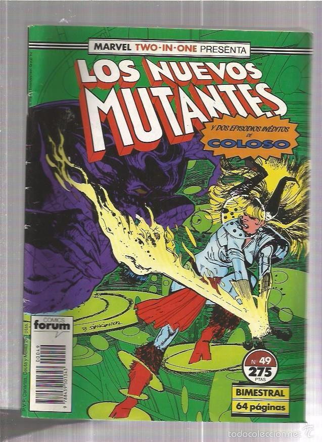 NUEVOS MUTANTES 49 (Tebeos y Comics - Forum - Otros Forum)
