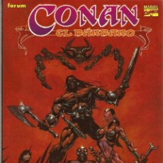 Cómics: CONAN EL BARBARO - LA CALAVERA DE SET NOVELAS GRAFICAS CONAN COLOR FORUM 1995. Lote 55370683