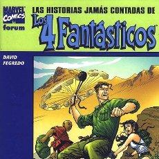 Cómics: LAS HISTORIAS JAMÁS CONTADAS DE LOS 4 FANTÁSTICOS: REED RICHARDS. Lote 55401564