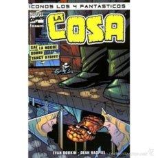 Cómics: ICONOS LOS 4 FANTÁSTICOS: LA COSA - CAE LA NOCHE SOBRE YANCY STREET. Lote 55476048